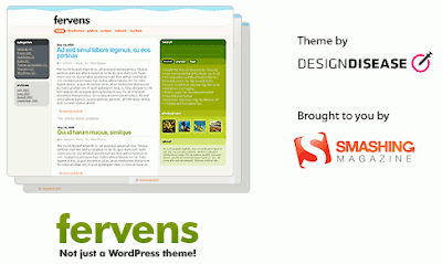 fervens released Quality Free Blogger Templates + PSD Source Files
