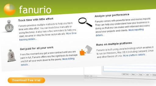 Giveaway!! Free License for Fanurio Time Tracking and Invoicing Software
