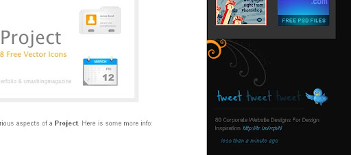 dezinerfolio Creative Twitter Status Designs