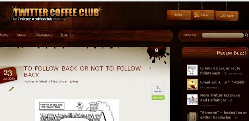 Twitter Coffee Club Featured on BloggerLuxe