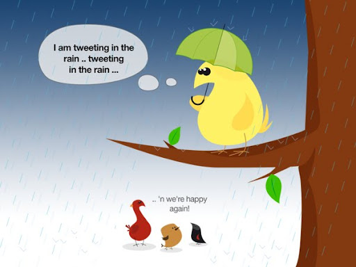 tweeting in the rain 50+ Most Amazing and Funny Twitter Comics