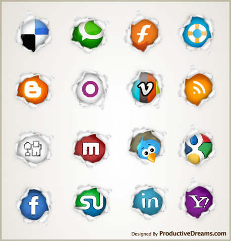 free+beautiful+social+icons+blogs+%288%29 Social Network Icons Reloaded