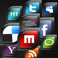 Social Network Icons Reloaded