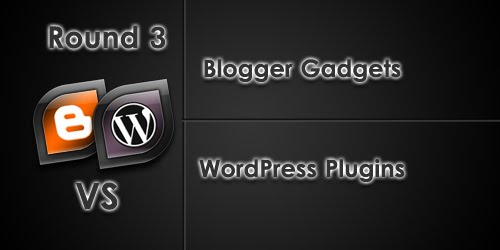 gadgets+vs+plugins Blogging Faceoff: Blogger vs. WordPress