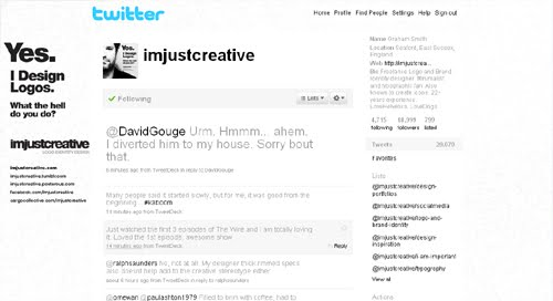 imjustcreative Inspiration Reloaded!   44 Best Twitter Background Themes