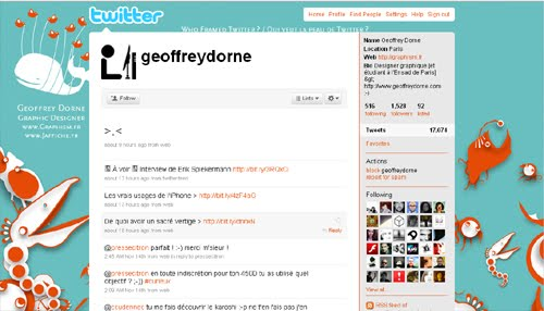 geoffreydorne Inspiration Reloaded!   44 Best Twitter Background Themes