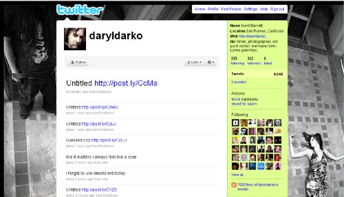 daryldarko Inspiration Reloaded!   44 Best Twitter Background Themes