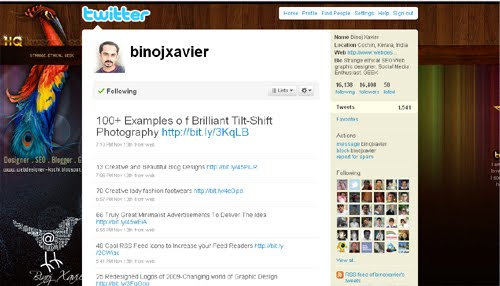 binojxavier Inspiration Reloaded!   44 Best Twitter Background Themes