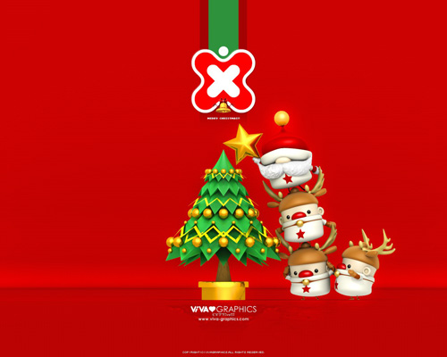 xmas boys 40 Gorgeous High Quality Christmas Wallpapers