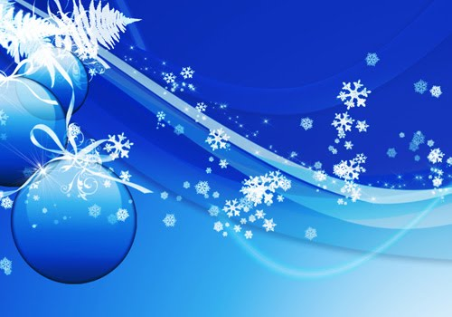 blue christmas 40 Gorgeous High Quality Christmas Wallpapers