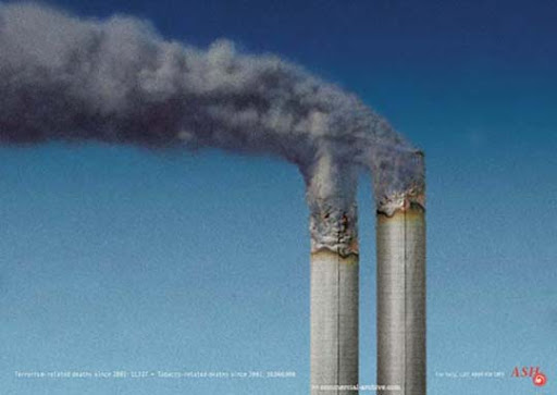 Smoking+Factory 65 Creative Anti Smoking Ad Campaigns Dedicated to World No Tobacco Day