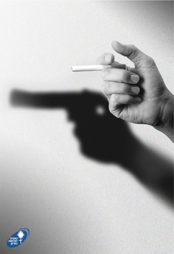 Anti smoking+Gun 65 Creative Anti Smoking Ad Campaigns Dedicated to World No Tobacco Day