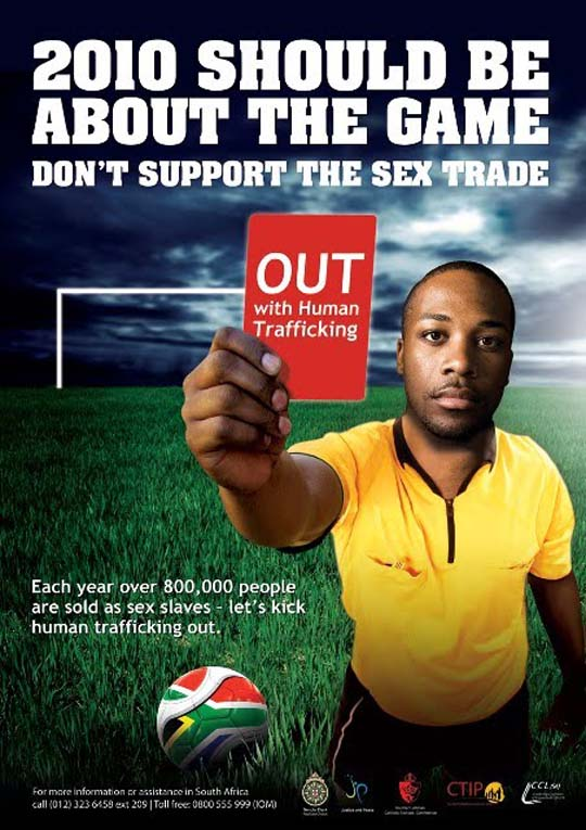 Sex trafficking world cup