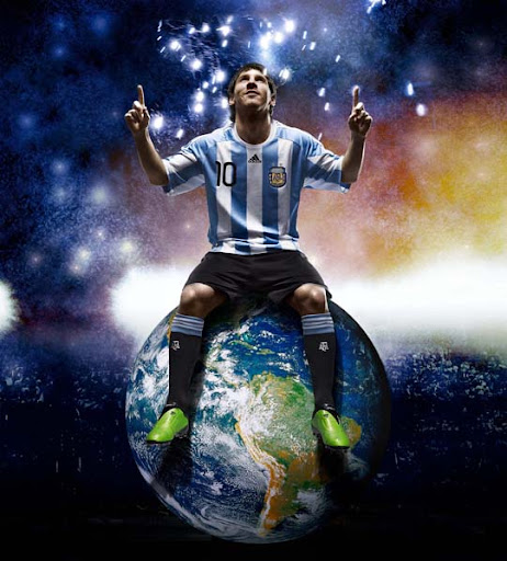 Messi FIFA World Cup South Africa 2010 Wallpapers, Posters and Fan Art