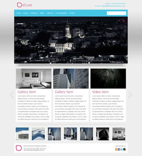 Deluxe Fresh Premium Wordpress Themes Designed in 2010
