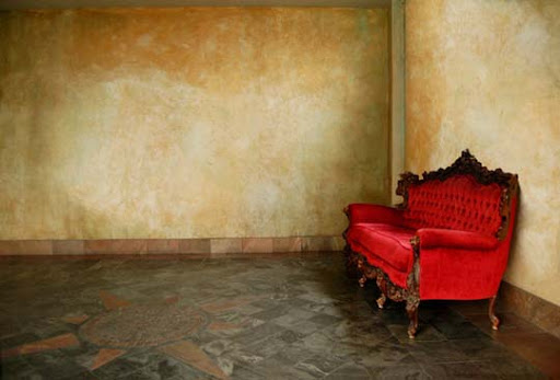 the red couch by chrisbonney Gorgeous Red Color Inspired Photography