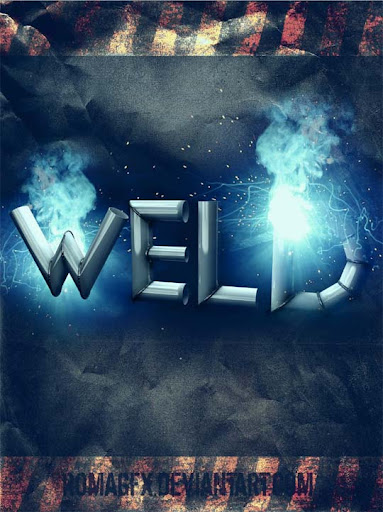 Welding Typography 3d by ROMAgfx Typography Brilliance: To Make you say Wow #2