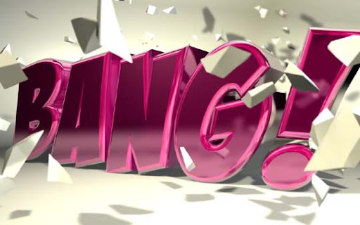 Cinema4D   Bang   by b4ddy Typography Brilliance: To Make you say Wow #2