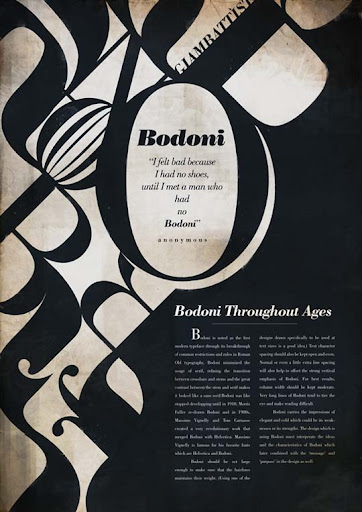 Bodoni Typeface by randyblinkaddicter Typography Brilliance: To Make you say Wow #2