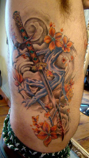 great sword by seanspoison Incredible Tattoo Designs and Body Art to Inspire You