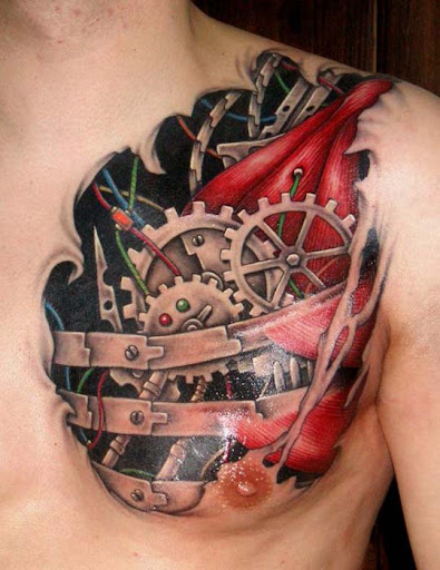 Biomech 6 by DarkSunTattoo Incredible Tattoo Designs and Body Art to Inspire You