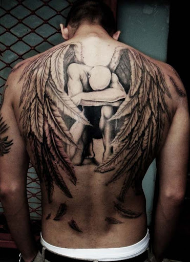 in memoriam of his fatherr by eminimal Incredible Tattoo Designs and Body Art to Inspire You