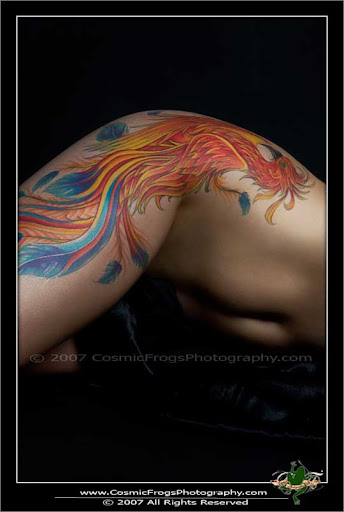 Phoenix Tattoo   Female Canvas by PaigeKay Incredible Tattoo Designs and Body Art to Inspire You