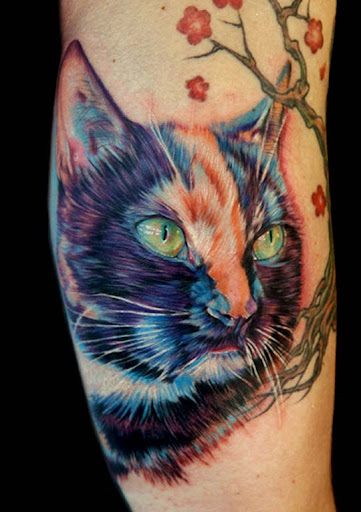 frannie the kitty by tat2istcecil Incredible Tattoo Designs and Body Art to Inspire You