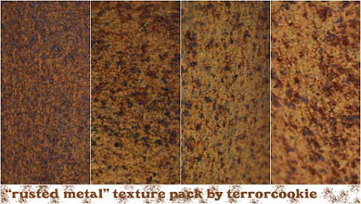Rusted Metal Texture Pack by TerrorCookie Free Rust Textures Every Designer Must Have | Stock Photography Resource