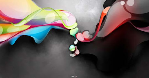 Good vs Evil by degodson 60 Magnificent Digital Abstract Art Examples