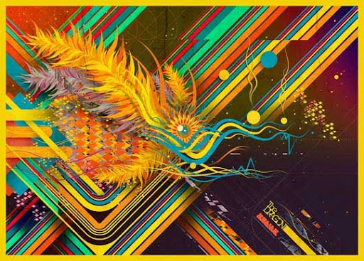 The Dragon by Rodier 60 Magnificent Digital Abstract Art Examples