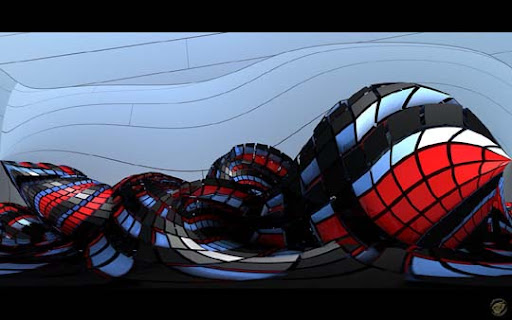 Exoskeleton on acid   WS by Ingostan 60 Magnificent Digital Abstract Art Examples