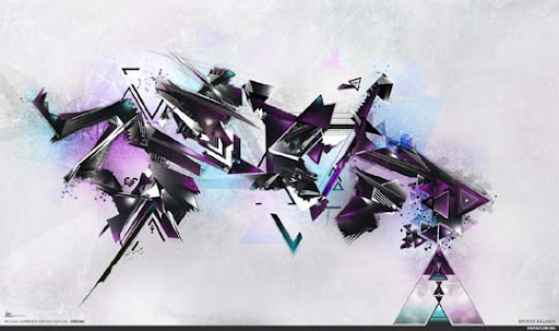 Broken Balance by ephix 60 Magnificent Digital Abstract Art Examples