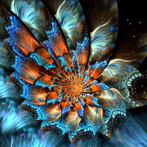 Fairy Flower V by Yuline 60 Spectacular Fractal Art Examples