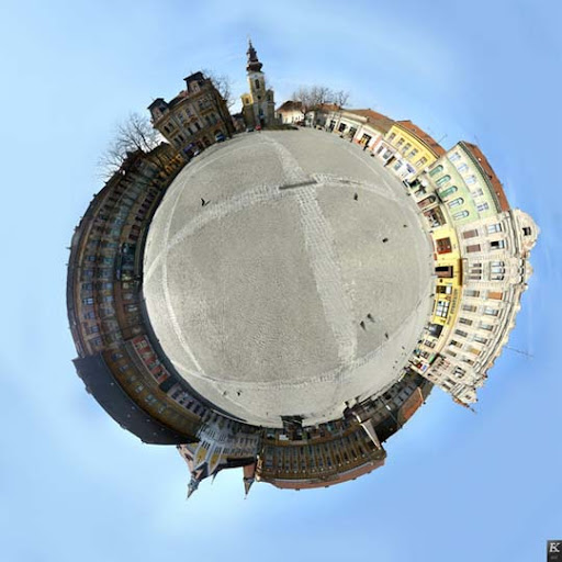 Planet 102 by v e v e Mesmerising Planet Panoramic Photography