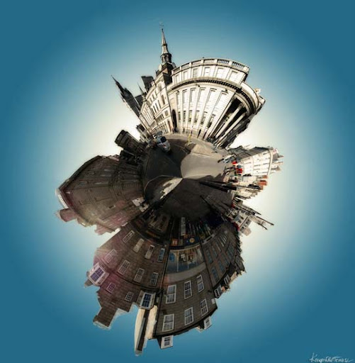 Planet Aberdeen by Qmol Mesmerising Planet Panoramic Photography