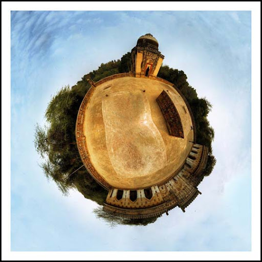 planet fort by sanwahi Mesmerising Planet Panoramic Photography