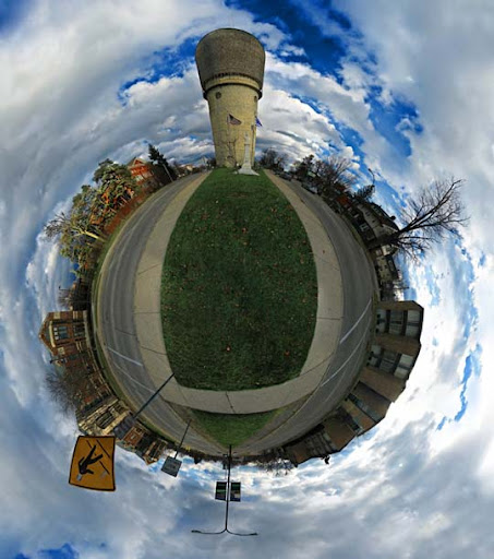 Mini Planet   Ypsilanti by electricjonny Mesmerising Planet Panoramic Photography