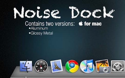 Noisy Docks by nadez7 30+ Fresh Dock Icons For Mac Customization