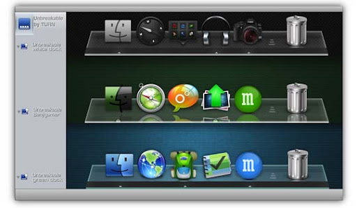 Unbreakable Dock by turnpaper 30+ Fresh Dock Icons For Mac Customization