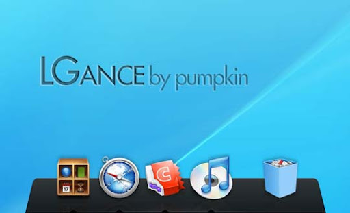 LGance 3D Leopard Dock by intemperie 30+ Fresh Dock Icons For Mac Customization