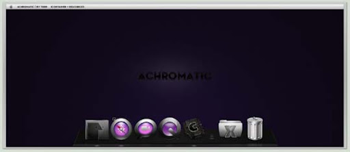 ACHROMATIC by turnpaper 30+ Fresh Dock Icons For Mac Customization