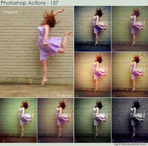 photoshop actions   137 by night fate The Ultimate Collection Of 500+ Useful Free Photoshop Actions