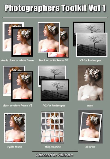 Photographers Toolkit 1 by WallStorm The Ultimate Collection Of 500+ Useful Free Photoshop Actions