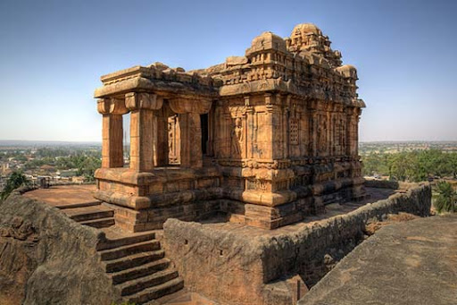 Hilltop+temple,+Badami,+Karnataka The Incredible India: 90 Spectacular Photos