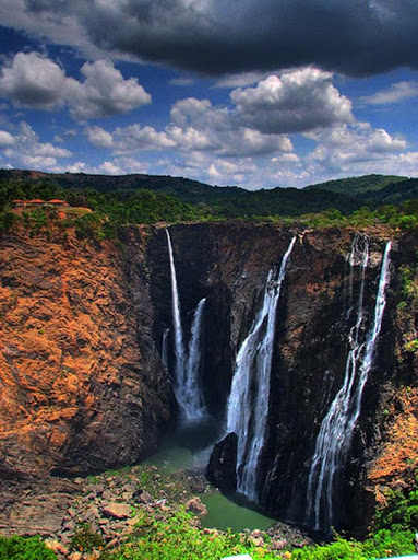 Jog+Falls,+Karnataka,+South+India+HDR The Incredible India: 90 Spectacular Photos