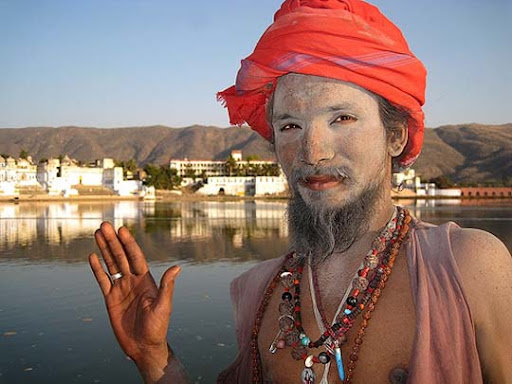 Sadhu.+Pushkar+Ghat The Incredible India: 90 Spectacular Photos