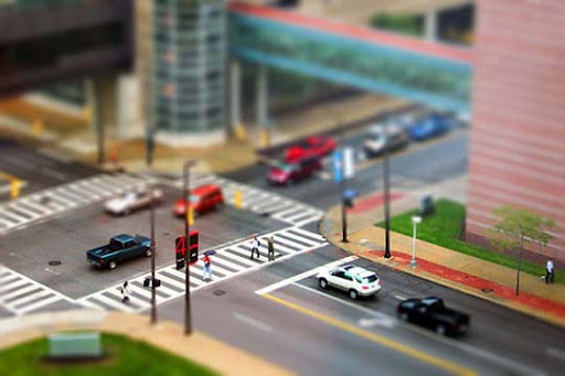 Cleveland+Clinic+Miniature 50+ Beautiful Examples of Tilt Shift Photography