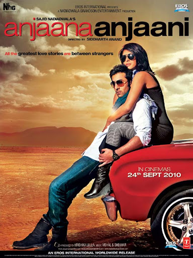 Anjaana+Anjaani 30+ Creative Bollywood Movie Posters | Design Inspiration