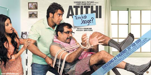 Atithi+Tum+Kab+Jaoge+%281%29 30+ Creative Bollywood Movie Posters | Design Inspiration